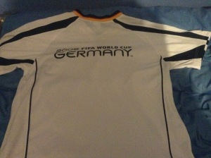 2006 world cup shirt - back