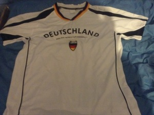 2006 world cup shirt - front