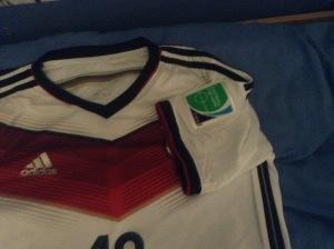 2014 home shirt - patch 1