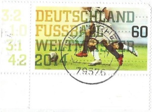 German football stamp