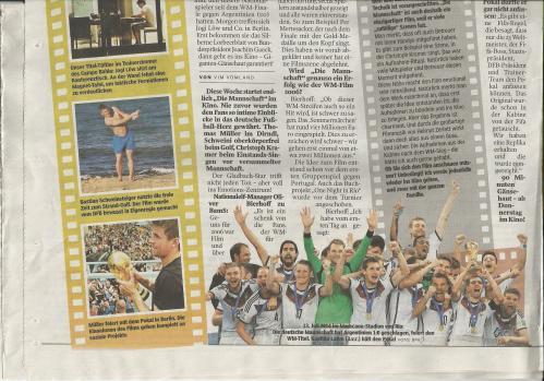 Bild am Sonntag - Sport - Die Mannschaft film 2