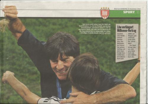 Joachim Löw - Bild am Sonntag - Sport 3