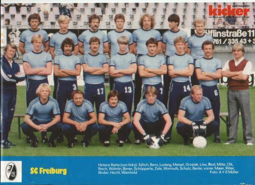 Joachim Löw - SC Freiburg poster 1