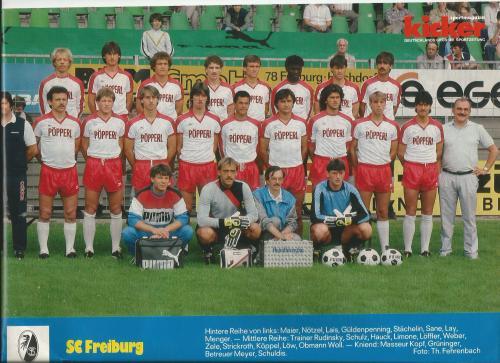 Joachim Löw - SC Freiburg poster 2