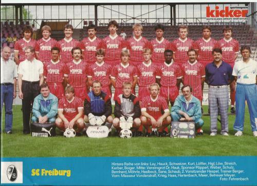 Joachim Löw - SC Freiburg poster 3
