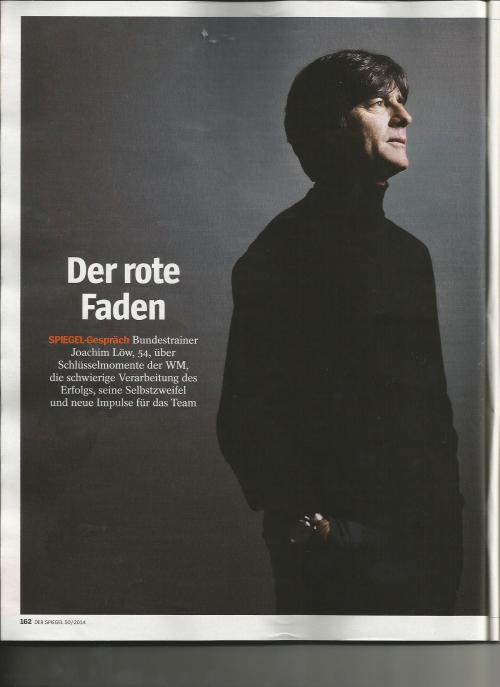 Der Spiegel - December - Jogi 1