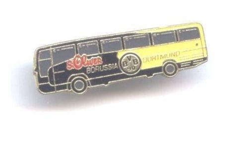 Mercedes Benz BVB Borussia Dortmund Bus Pin