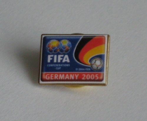 PIN FIFA Confederations Cup Germany 2005 Deutschland