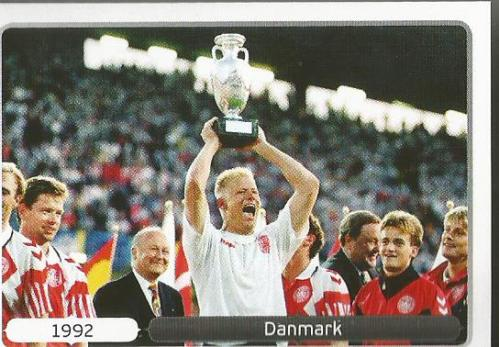 Danmark 1992 - EM 2012 sticker