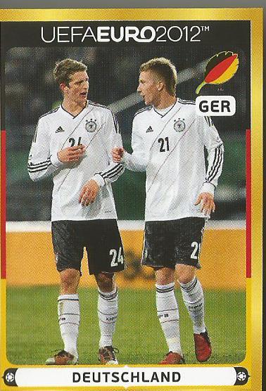 Deutschland 3 - EM 2012 sticker