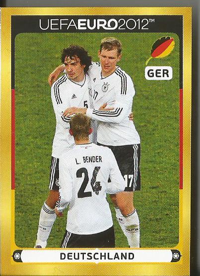 Deutschland - EM 2012 sticker