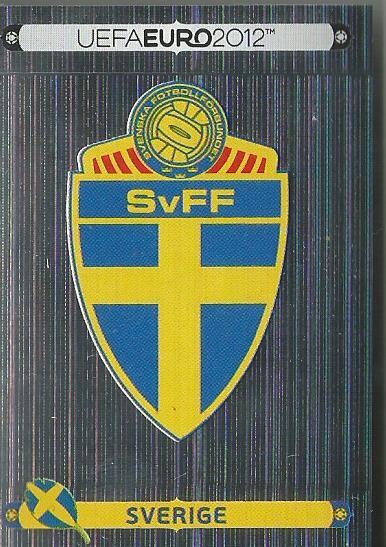 Sverige - EM 2012 sticker