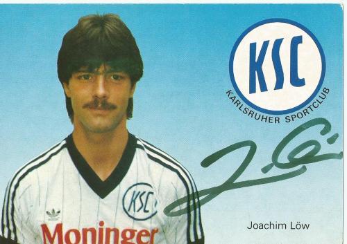Joachim Löw - Karlsruher SC Karte 1