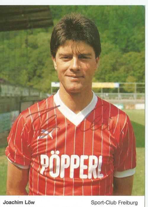Joachim Löw - SC Freiburg Karte