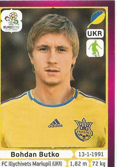 Bohdan Butko - Ukraine - EM 2012