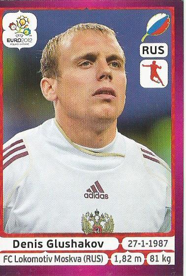 Denis Glushakov - Russia - EM 2012
