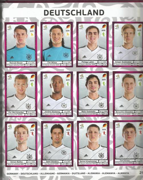 EM 2012 - Germany page 2