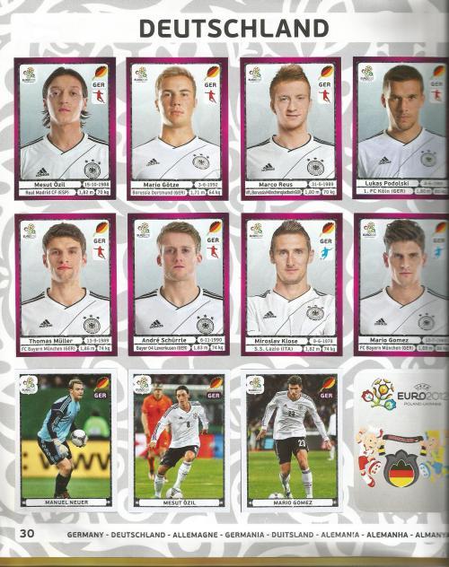 EM 2012 - Germany page 3