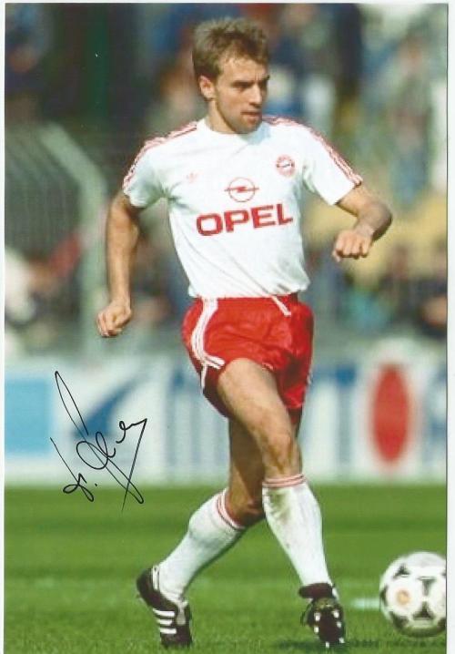Hansi Flick - signed Bayern photo