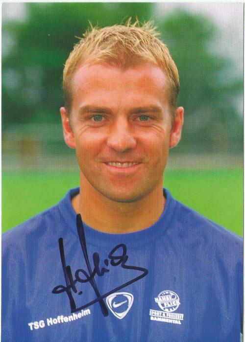 Hansi Flick - TSG 18199 Hoffenheim signed card 1