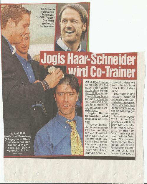 Jogis Haar-Schneider wird Co-Trainer