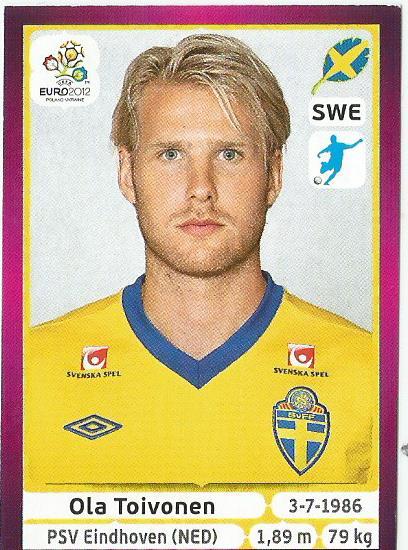 Ola Toivonen - Sweden - EM 2012