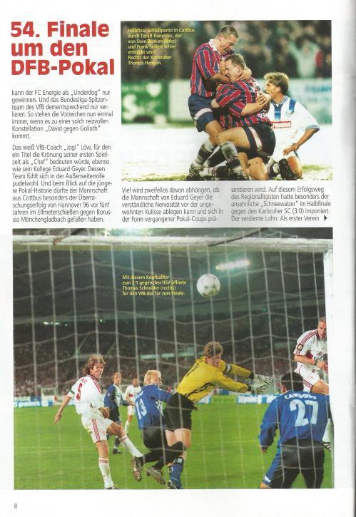 aktuell - VfB Stuttgart vs FC Energie Cottbus - DFB Pokal Endspiel 1997 2