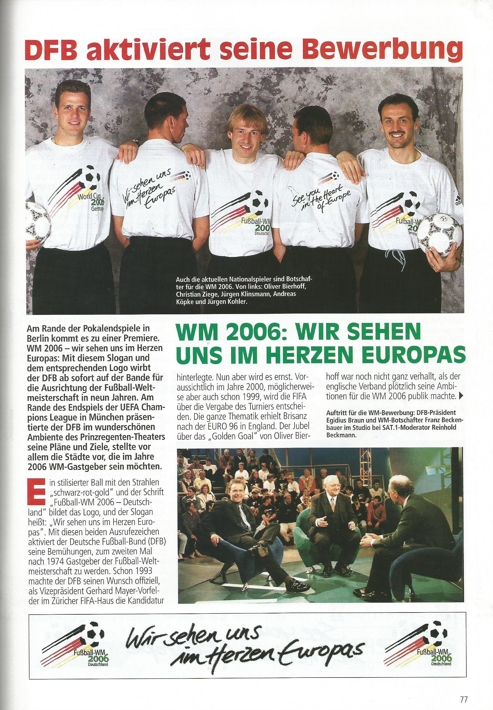 aktuell vfb stuttgart vs fc energie cottbus dfb pokal endspiel 1997 6 - Sat 1 Bewerbung