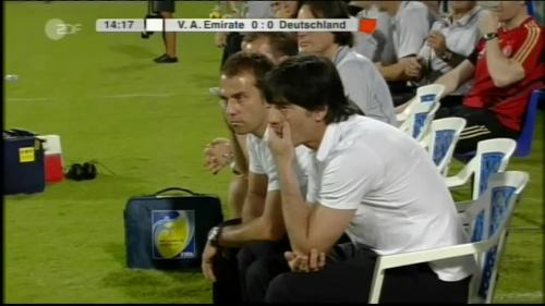 Hansi Flick & Joachim Löw - UAE v Germany 1