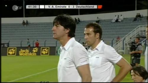 Hansi Flick & Joachim Löw - UAE v Germany 10