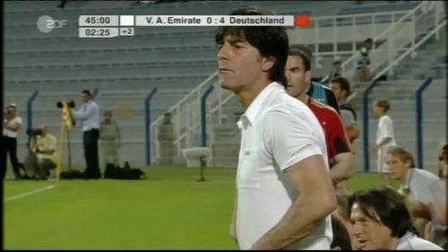 Hansi Flick & Joachim Löw - UAE v Germany 11