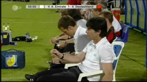 Hansi Flick & Joachim Löw - UAE v Germany 12