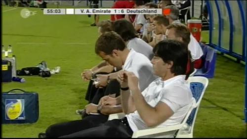 Hansi Flick & Joachim Löw - UAE v Germany 13