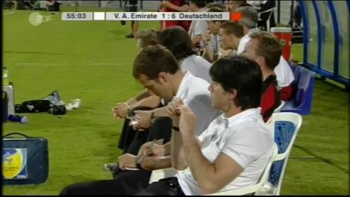 Hansi Flick & Joachim Löw - UAE v Germany 14