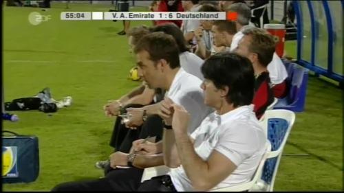 Hansi Flick & Joachim Löw - UAE v Germany 15