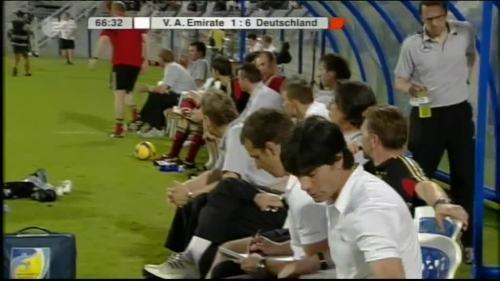 Hansi Flick & Joachim Löw - UAE v Germany 16