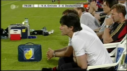 Hansi Flick & Joachim Löw - UAE v Germany 17