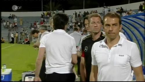 Hansi Flick & Joachim Löw - UAE v Germany 19