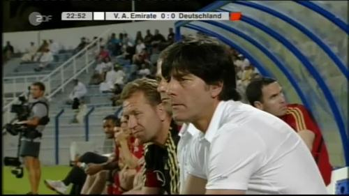 Hansi Flick & Joachim Löw - UAE v Germany 3