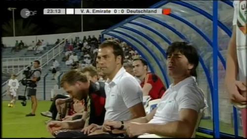Hansi Flick & Joachim Löw - UAE v Germany 4
