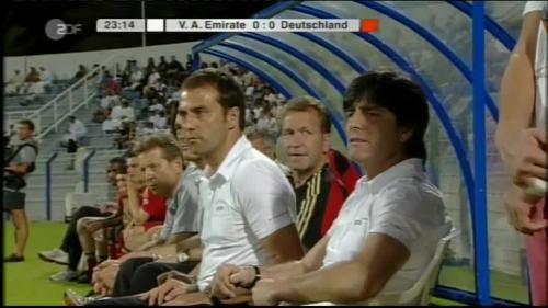 Hansi Flick & Joachim Löw - UAE v Germany 5