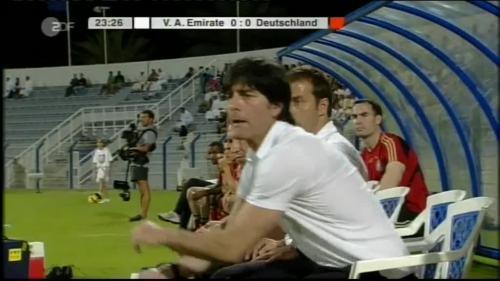 Hansi Flick & Joachim Löw - UAE v Germany 6