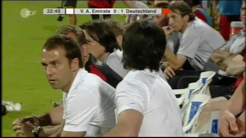 Hansi Flick & Joachim Löw - UAE v Germany 8
