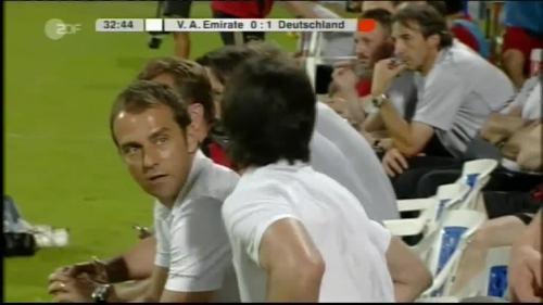 Hansi Flick & Joachim Löw - UAE v Germany 9