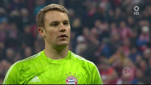 Manuel Neuer - Pokal Halbfinale 1