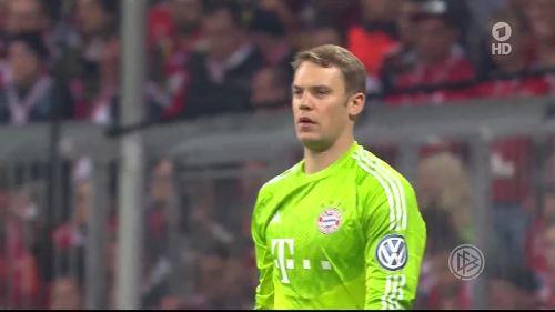 Manuel Neuer - Pokal Halbfinale 2