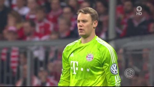 Manuel Neuer - Pokal Halbfinale 3