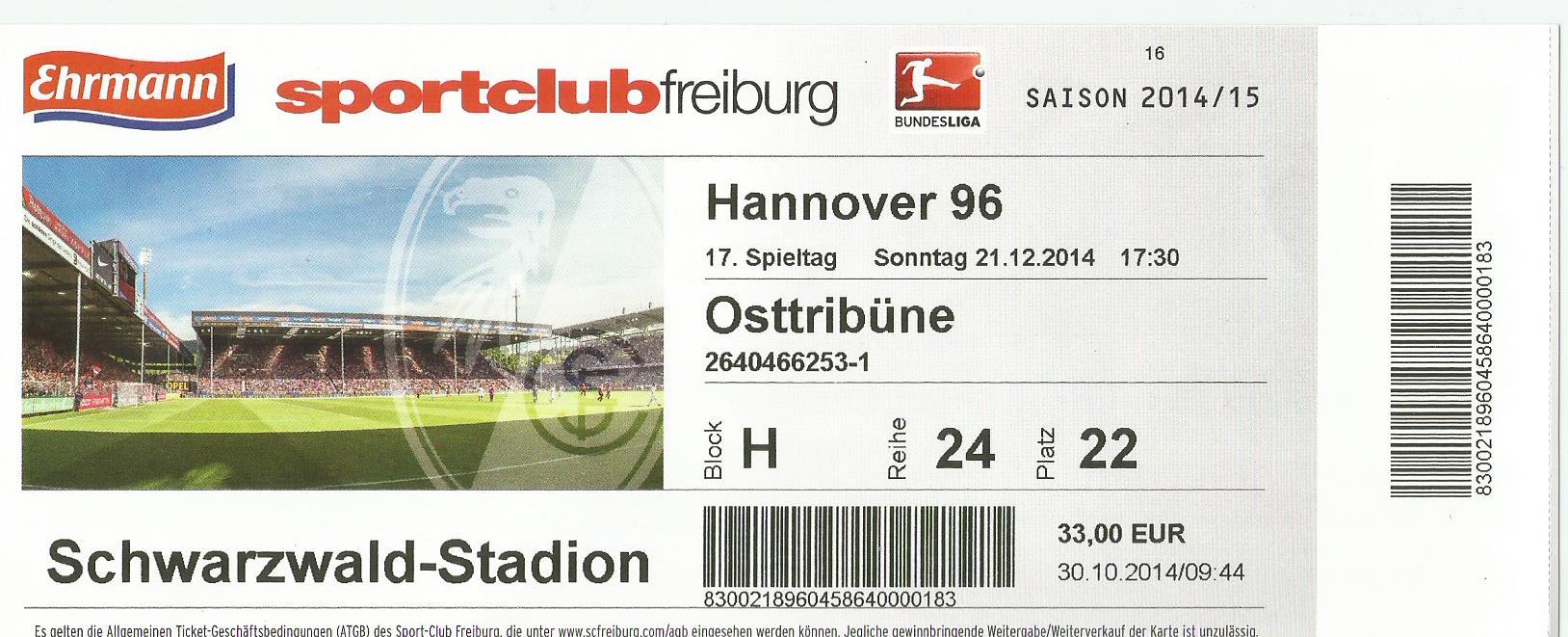 Sc Freiburg Karten.Ticket Collection Löwland