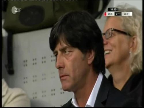 Denmark v Germany 2010 friendly - Jogi Löw 1