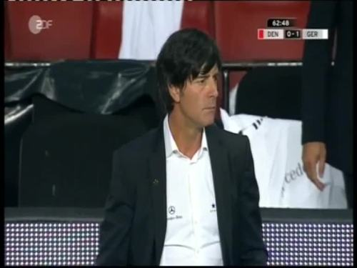 Denmark v Germany 2010 friendly - Jogi Löw 2